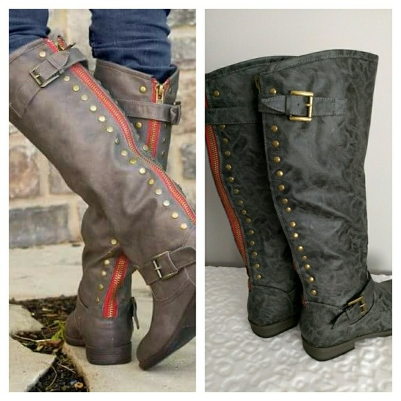 c9e1ab46a4d Journee Collection Spokane Knee-High Boots NWOT. M 5b6ca04f2beb79593d2a00e5